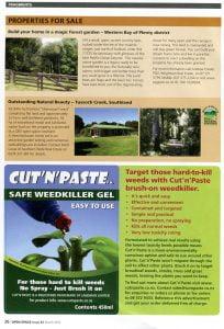 QEII Promotes Cut'n'Paste advertising