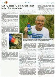 CutnPaste Article in Waiheke Gulf News